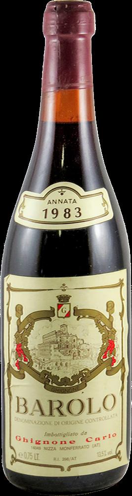 Ghignone Carolo Barolo 1983