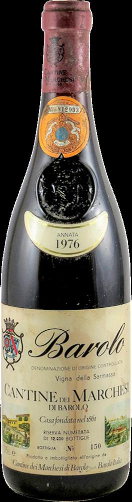 Marchesi di Barolo - Vigna della Sarmassa - Riserva Barolo 1976