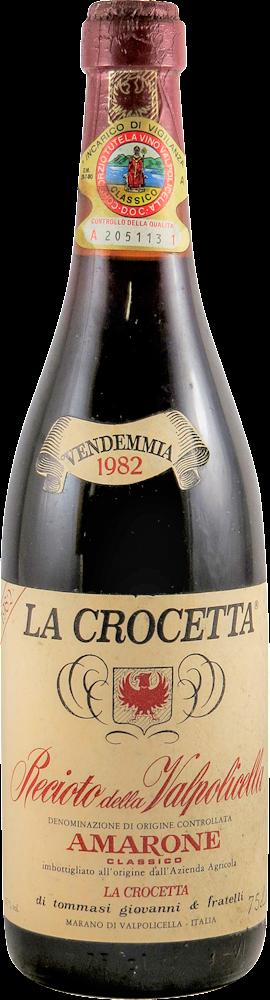 Tommasi Giovanni - La Crocetta Amarone 1982