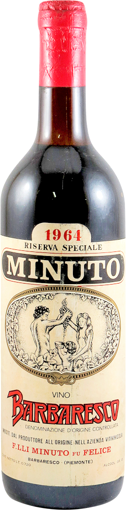 Minuto f,lli fu Felice - Riserva Speciale Barbaresco 1964
