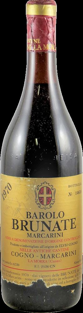 Marcarini Cogno – Brunate Barolo 1970