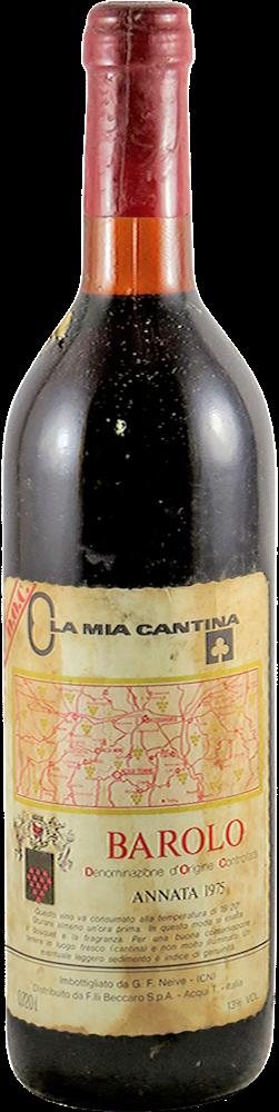 La mia Cantina Barolo 1975