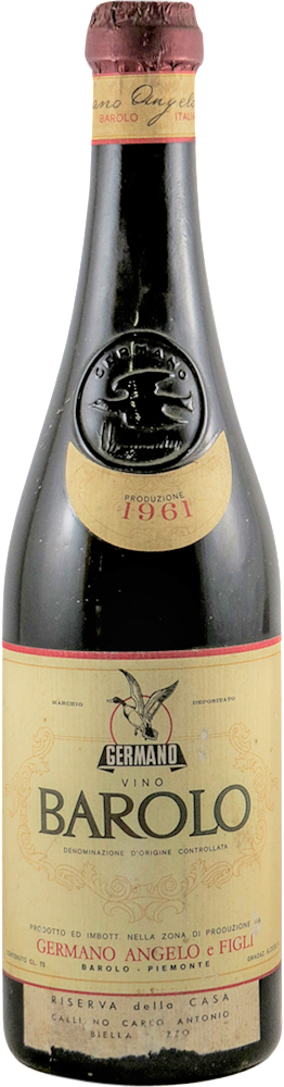 Germano Angelo & Figli Barolo 1961