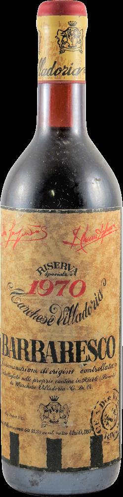 Villadoria Cantine - Riserva Speciale Barbaresco 1970