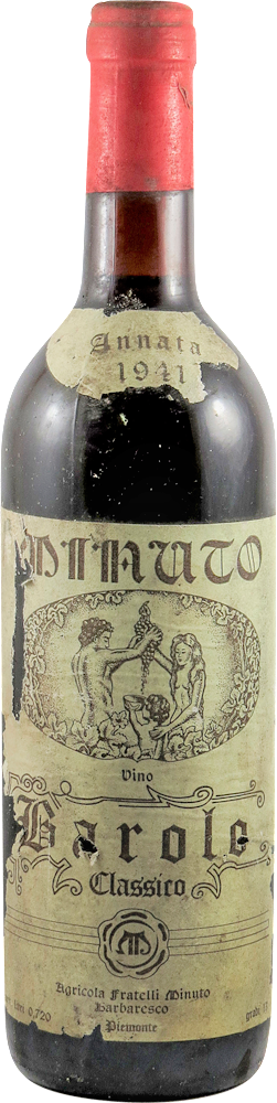 Minuto Fratelli Barolo 1941