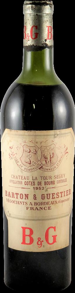La Tour Seguy Cotes de Bourg 1952