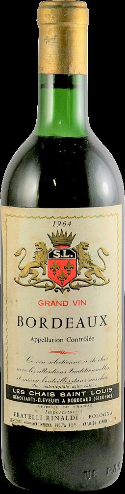 Les Chais Saint Louis Bordeaux 1964