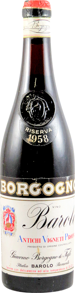 Giacomo Borgogno - Riserva Barolo 1958