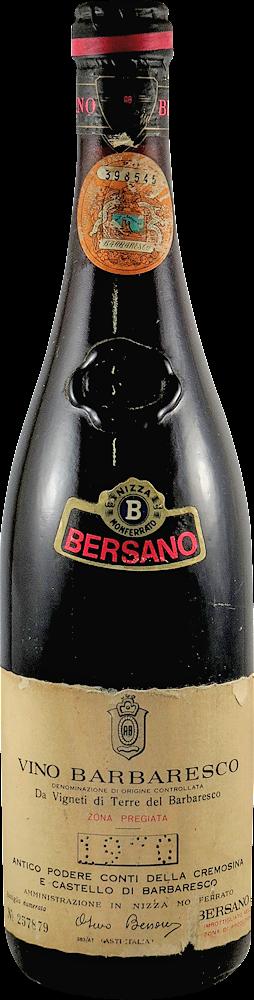 Bersano Barbaresco 1970