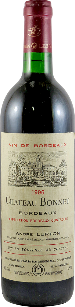 Chateau Bonnet Bordeaux 1996