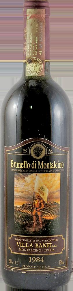 Villa Banfi Brunello di Montalcino 1984