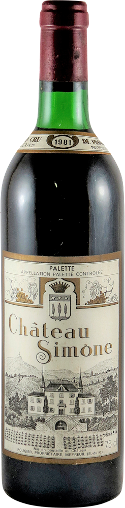 Chateau Simone Palette 1981