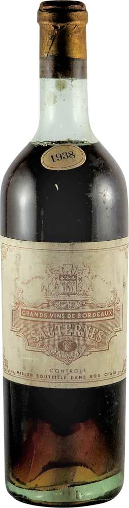 Sauternes 1938