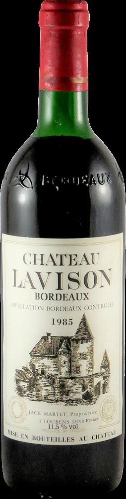 Chateau Lavison Bordeaux 1985