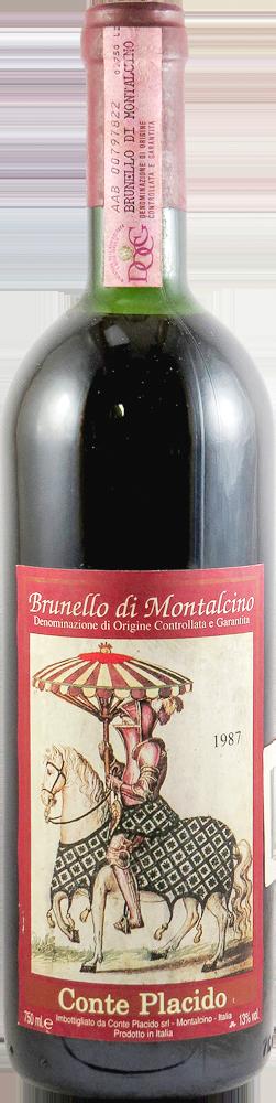Conte Placido Brunello di Montalcino 1987