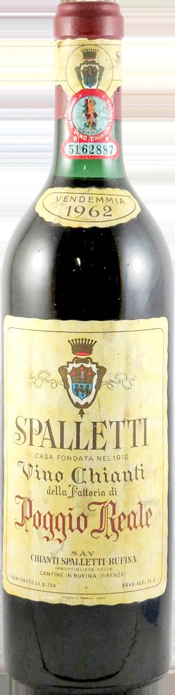 Poggio Reale - Spalletti  Chianti 1962