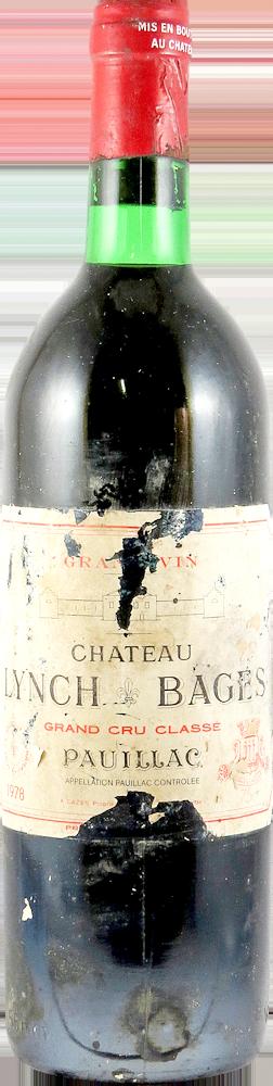 Chateau Lynch Bages Bordeaux - Pauillac 1978