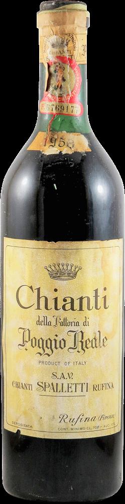 Poggio Reale - Spalletti  Chianti 1958