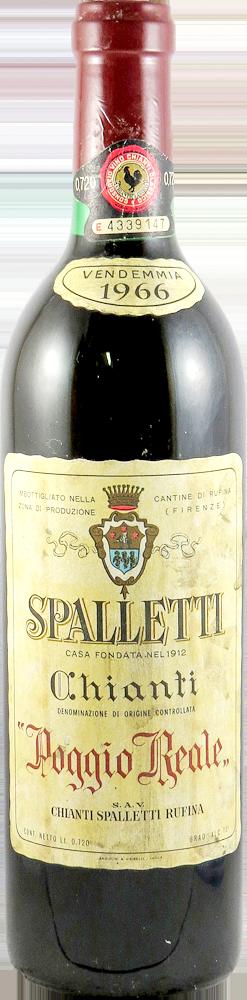 Poggio Reale - Spalletti  Chianti 1966