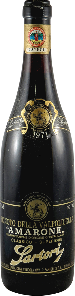 Sartori Amarone 1971