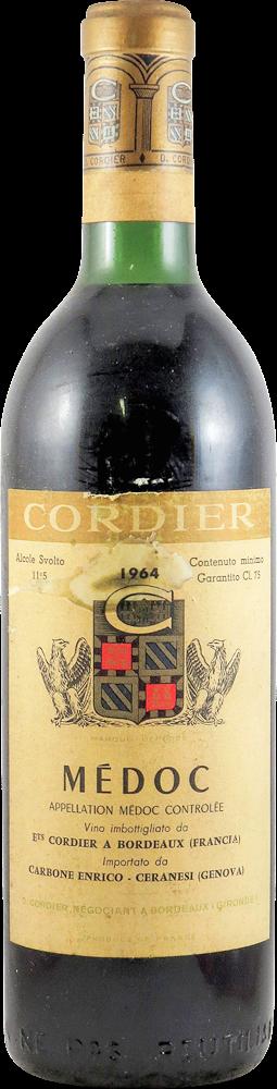 Cordier Bordeaux - Medoc 1964