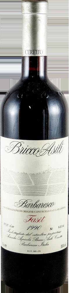 Ceretto - Bricco Asili - Faset Barbaresco 1990