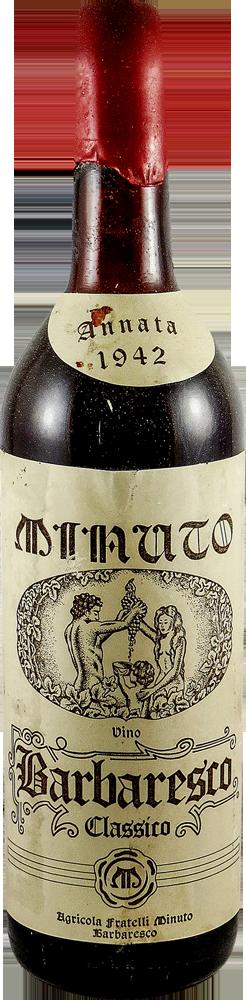 F.lli Minuto Barbaresco 1942
