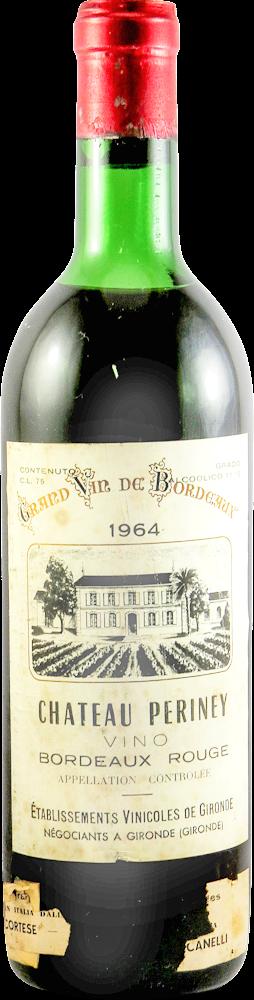 Chateau Periney Bordeaux 1964