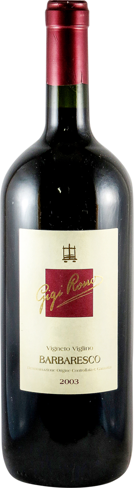 Gigi Rosso - Vigneto Viglino Barbaresco 2003