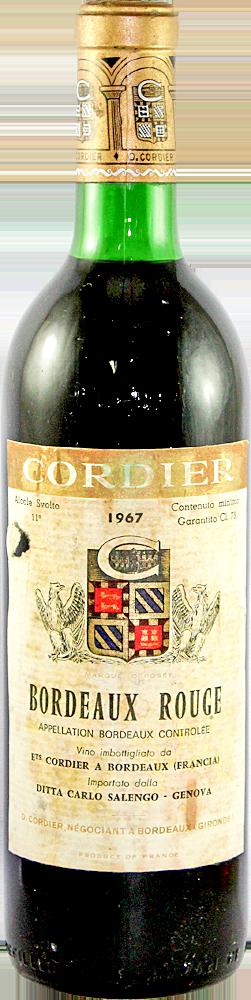 Cordier Bordeaux 1967
