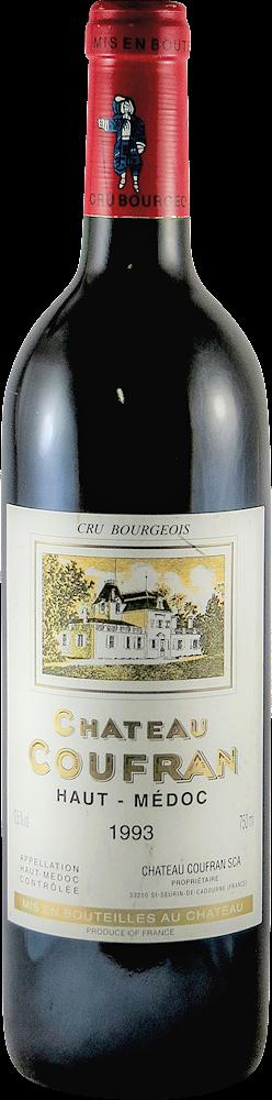 Chateau Coufran Bordeaux - Haut Medoc 1993