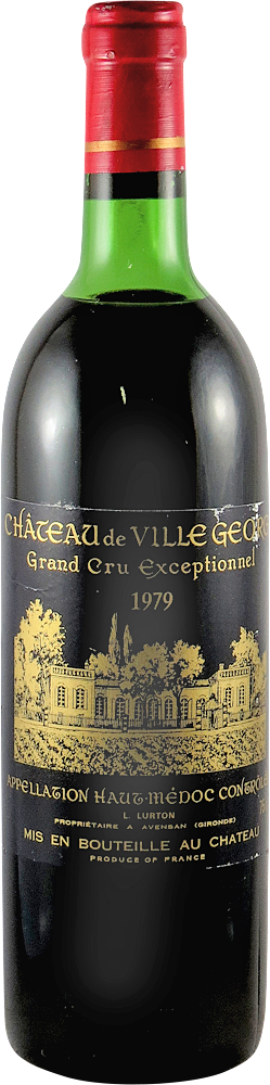 Chateau de Ville George Bordeaux - Haut Medoc 1979