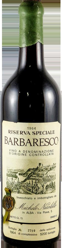 Michele Nicolello - Riserva Speciale Barbaresco 1964