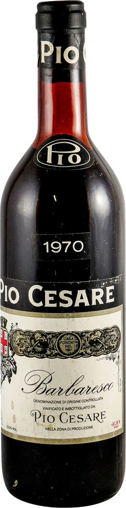 Pio Cesare Barbaresco 1970