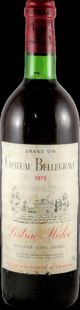 Chateau Bellegrave Bordeaux - Listrac 1973