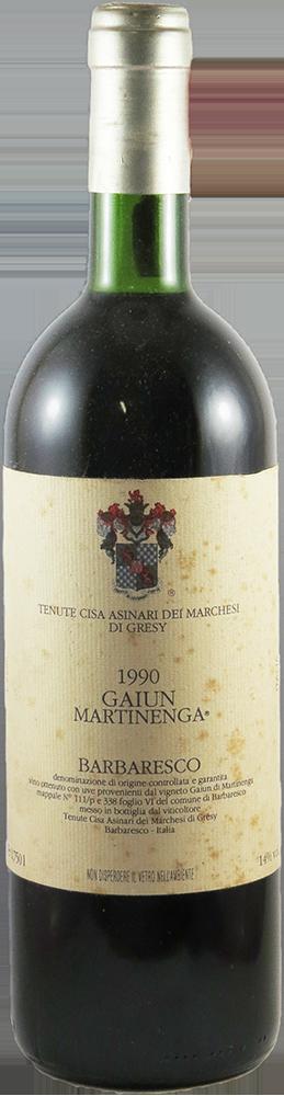 Tenuta Cisa Asinari Dei Marchesi Gresy - Gaiun Martinenga Barbaresco 1990