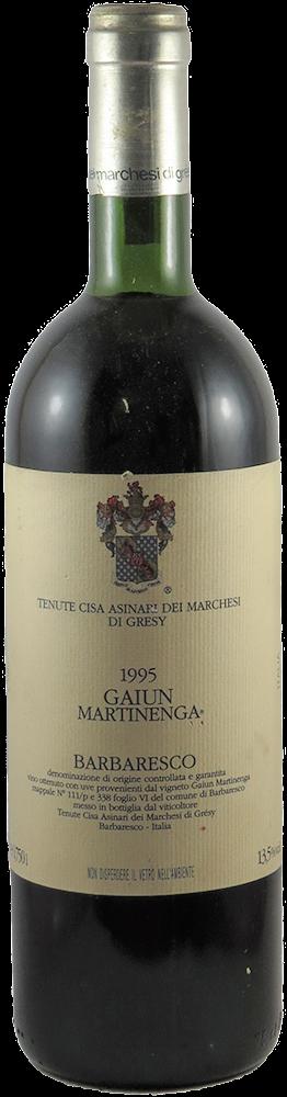 Tenuta Cisa Asinari Dei Marchesi Gresy - Gaiun Martinenga Barbaresco 1995