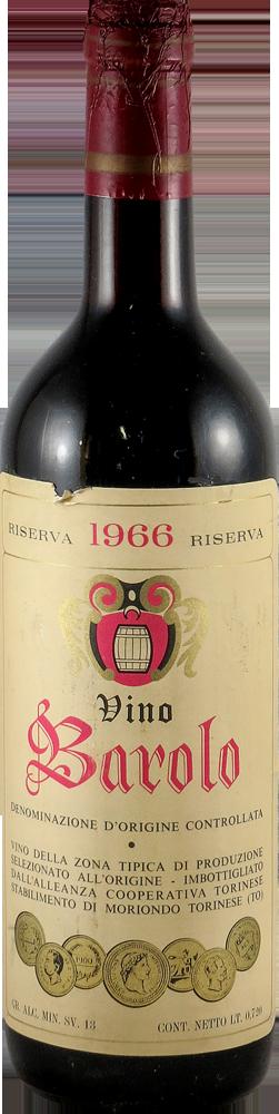 Alleanza Coop. Torinese - Riserva Barolo 1966