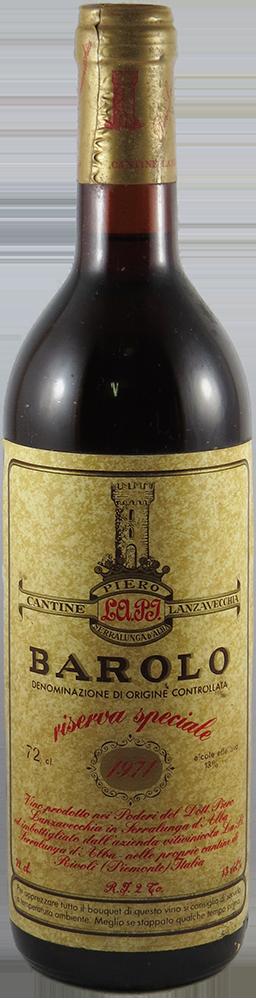 Cantine Lanzavecchia - Riserva Barolo 1971