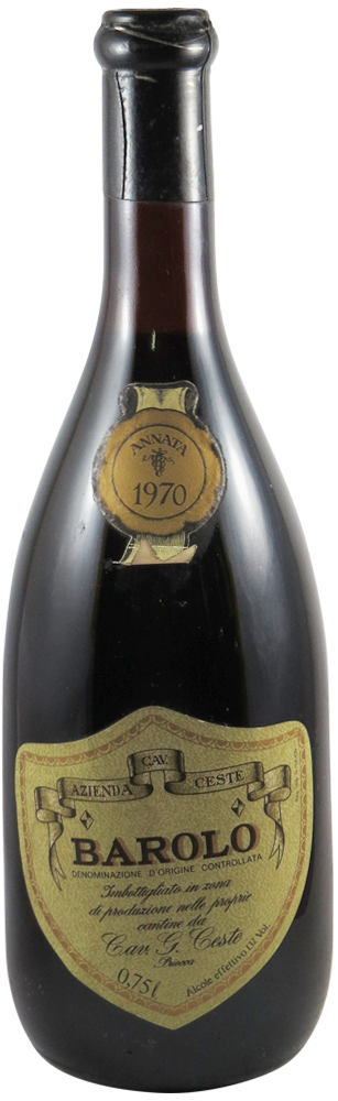 Cav. Ceste Barolo 1970