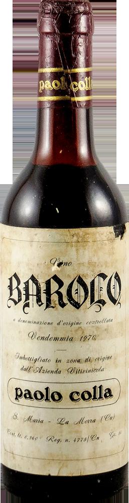 Colla Paolo Barolo 1970