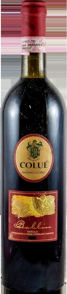 Colue Massimo Oddero Barolo 2002