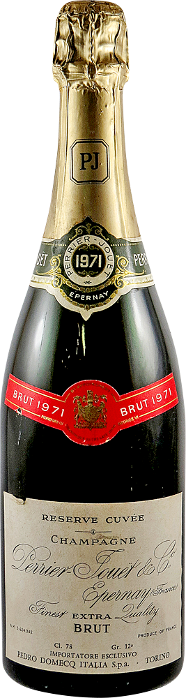 Perrier - Jouet - Reserve Cuvee Champagne 1971