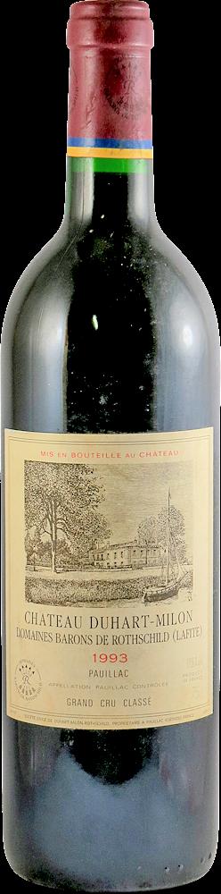 Chateau Duhart - Milon Bordeaux - Pauillac 1993