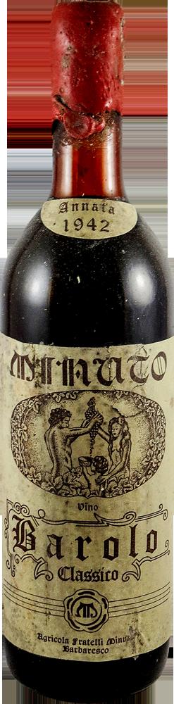 F.lli Minuto Barolo 1942