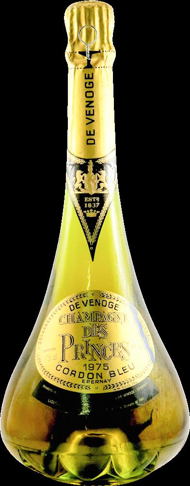 Princes - Cordon Bleu - De Venoge Champagne 1975