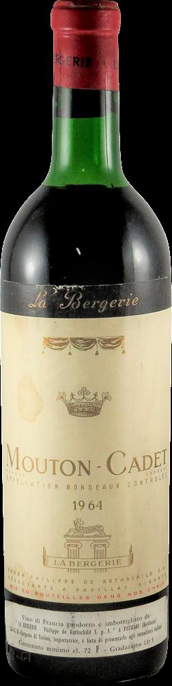 Mouton Cadet - La Bergerie Bordeaux - Pauillac 1964