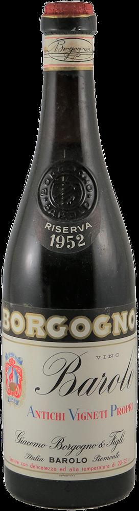 Giacomo Borgogno - Riserva Barolo 1952