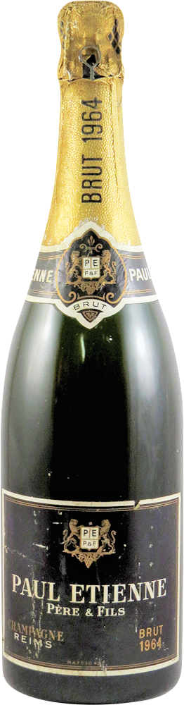 Paul Etienne Pere & Fils Champagne 1964