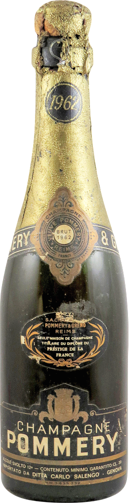 Pommery Champagne 1962